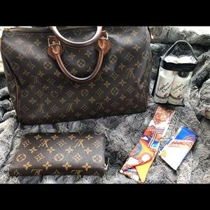 Vintage lv monogram 35 set
